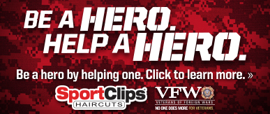 Sport Clips Haircuts of Billings - Trailhead Center ​ Help a Hero Campaign